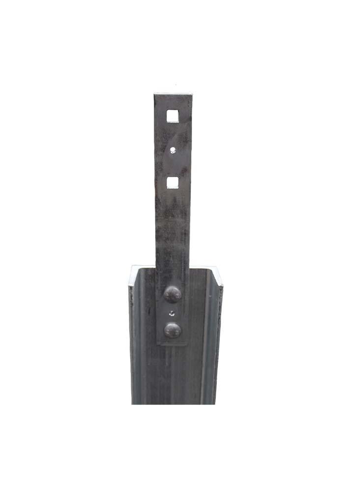 100mm Series C Section & Metal Bracket
